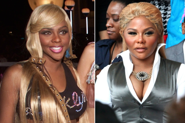 Lil' Kim's Many Changing Faces + Body Parts