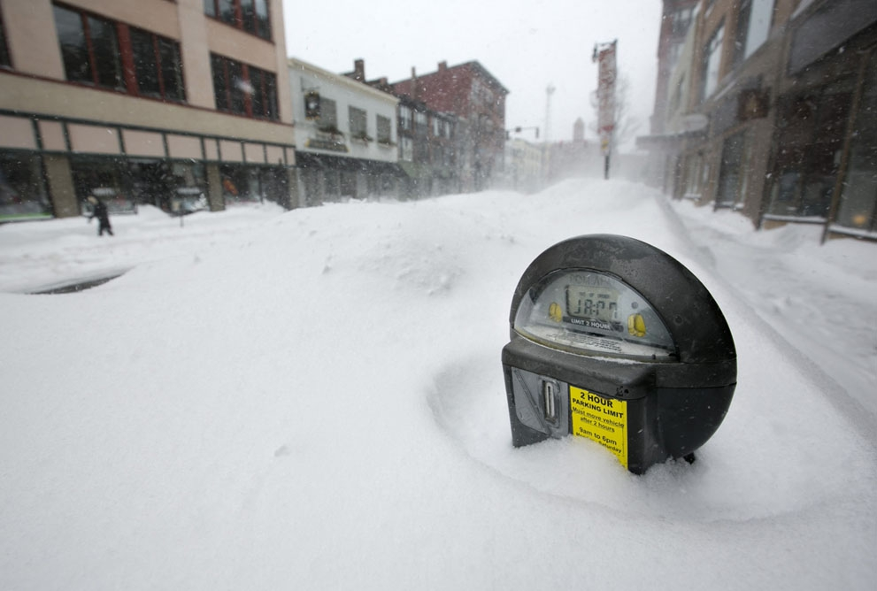 Northeast Slammed by Blizzard