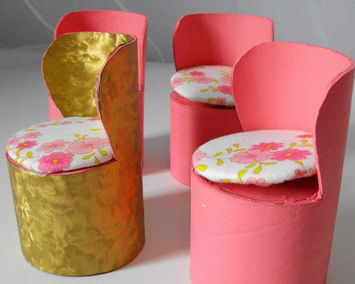 Make Dolls Chairs