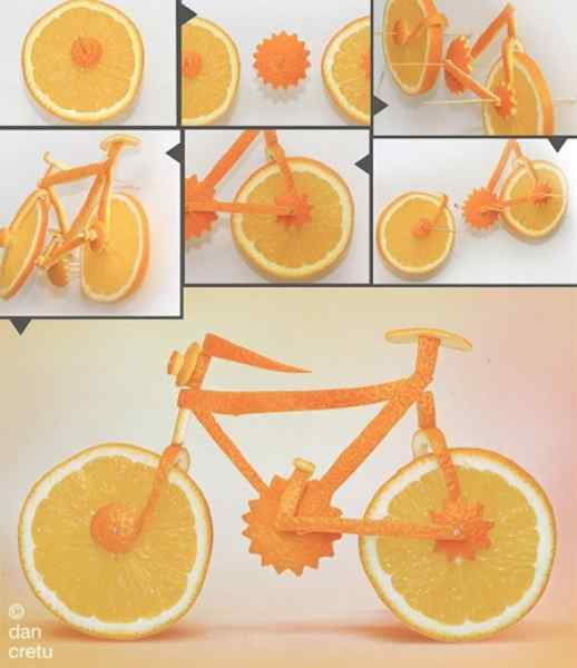 Cool Food Made Sculptures!