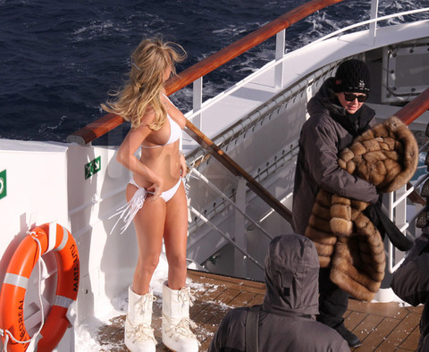 Kate Upton's Body Shuts Down after Antarctica Shoot