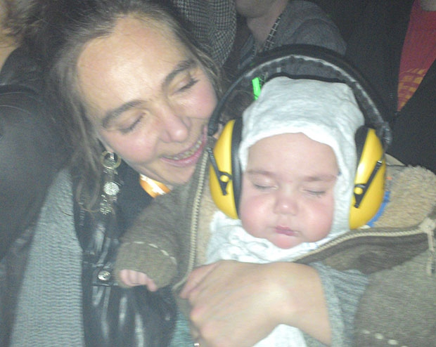 I thought it was normal to take baby to a rave