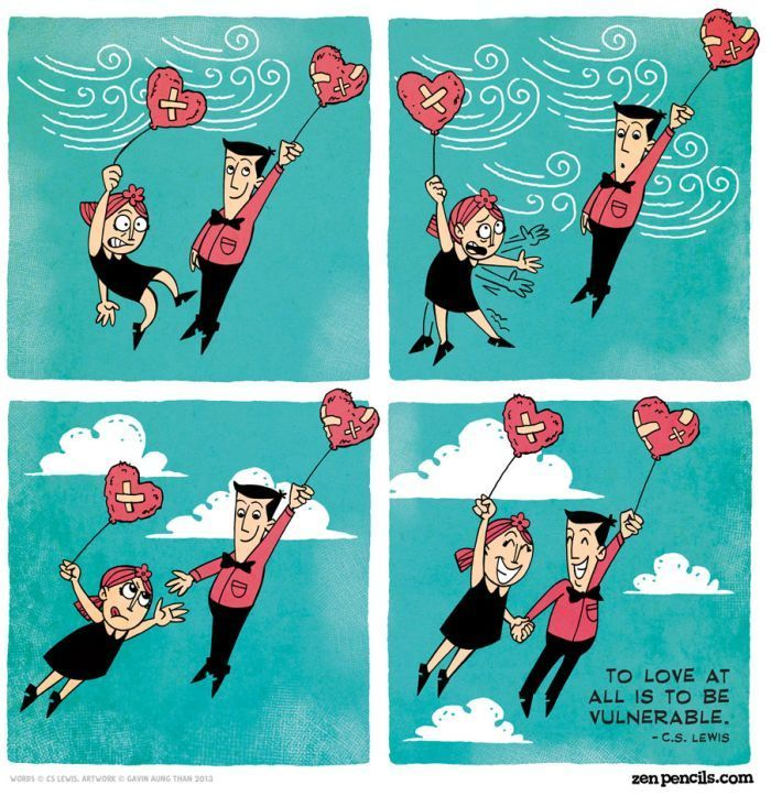 One Comics about Love от Helen за 13 feb 2013