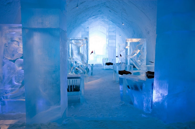 The Largest Ice and Snow Hotel in the World
