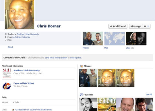 Chris Dorner, Believed to be Dead.