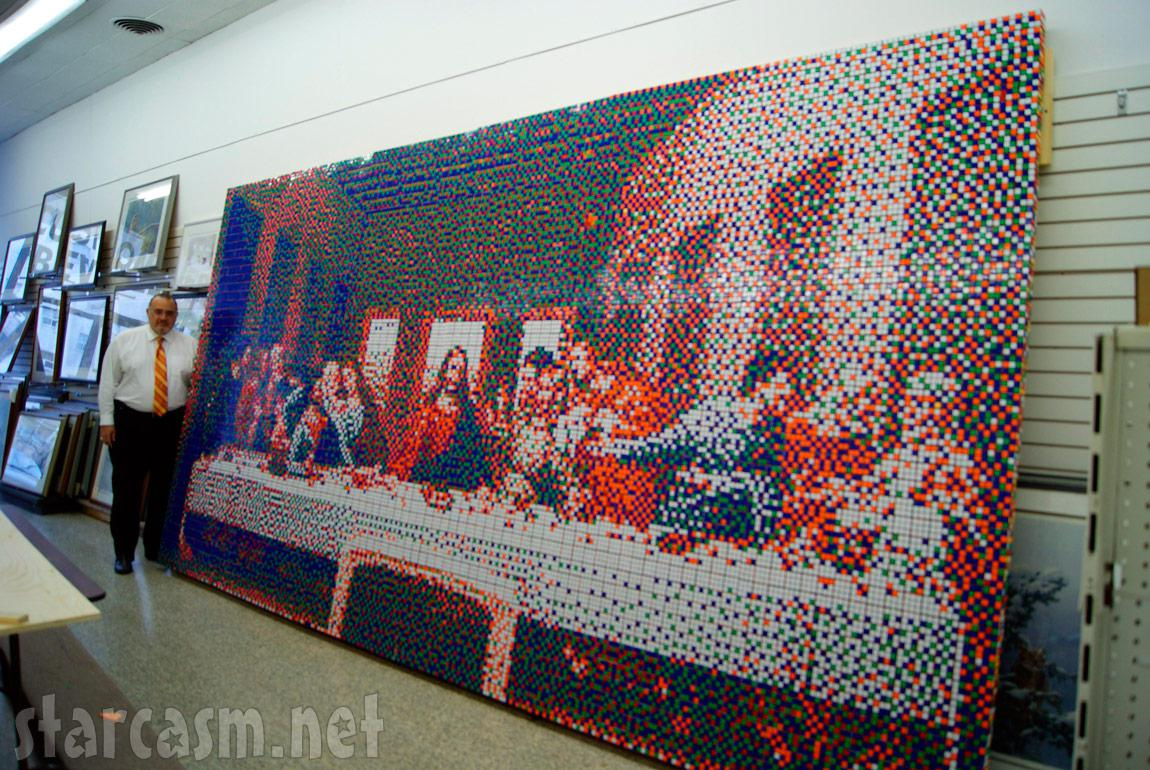 Art Made With Rubik's Cubes