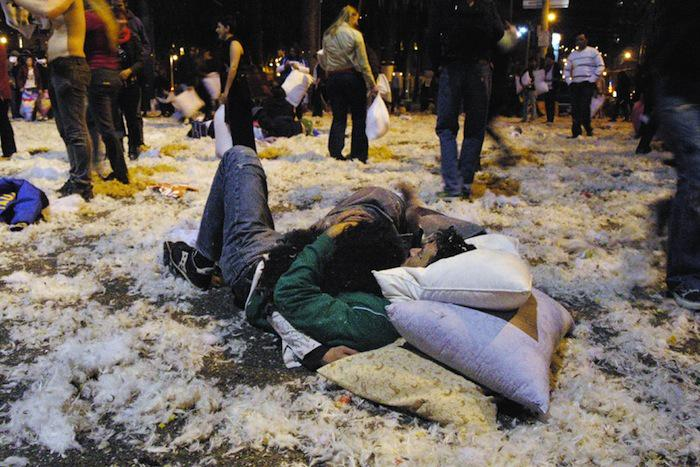 Annual Pillow Fight in San Francisco:) Another Way to Celebrate Valentines Day