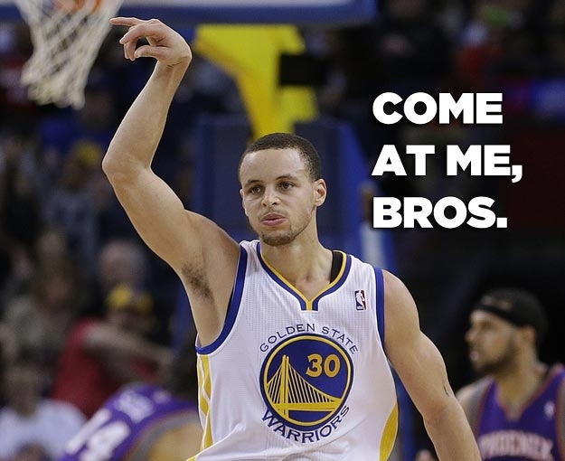 Steph Curry Nearly a Perfect 3 point shooter