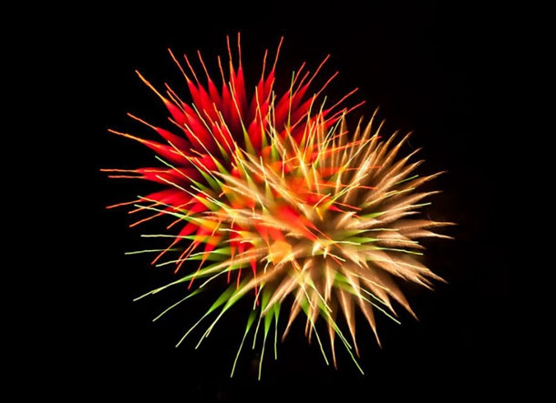 Simply Exceptional Long Exposure Fireworks