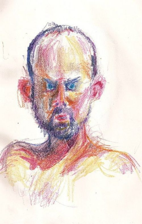 Self-Portraits Drawn Whilst High On 45 Different Drugs