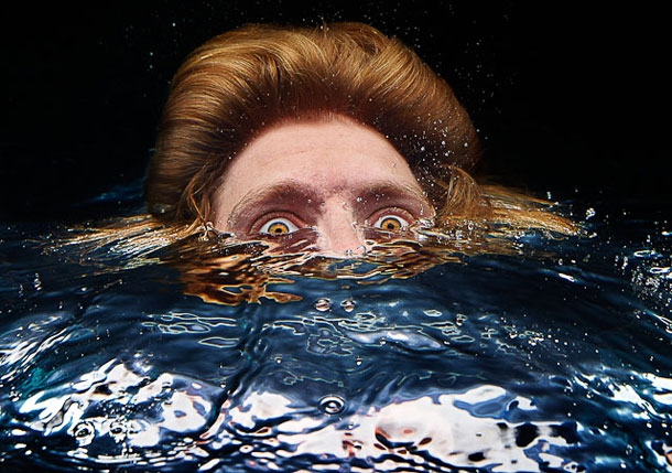 A Series Of Oddly Unsettling Underwater Portraits