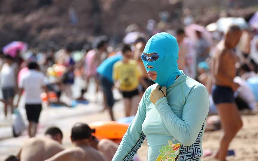 China's Latest Fashion Craze - The Facekini