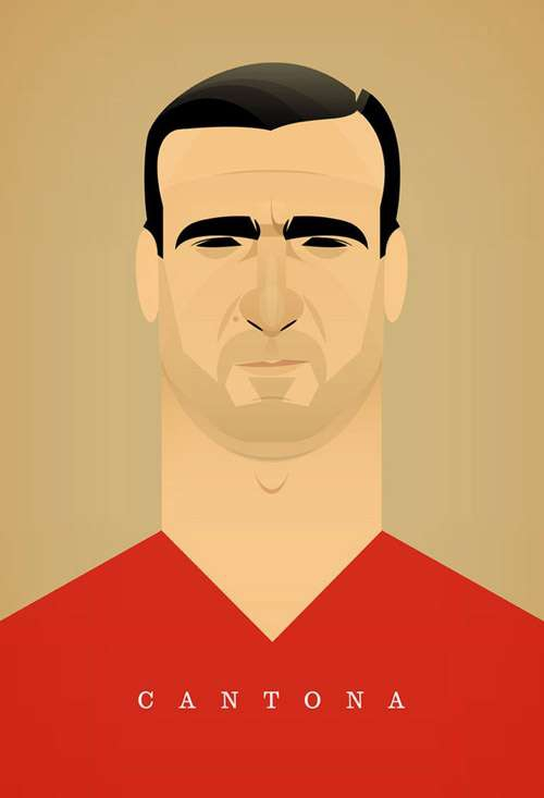 The World's Most Famous Footballers Illustrated