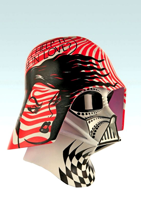 Darth Vader Gets The Custom Pop Art Treatment