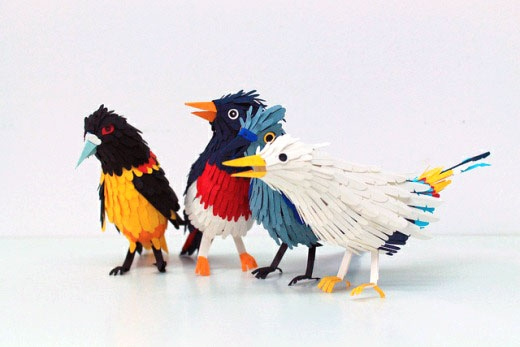 A Collection Of Vibrant & Fantastic Origami Animals