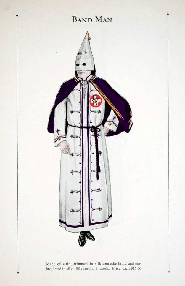 A Chilling Look At The Fashion Of The Ku Klux Klan