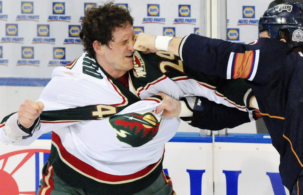 Who Doesnt love a good Hockey Fight