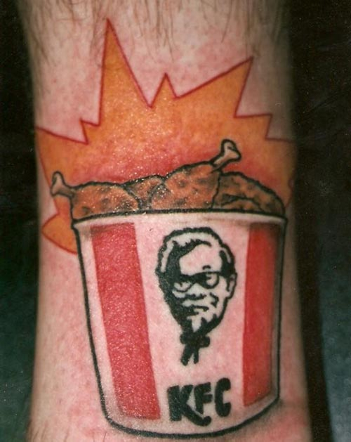 WTF Food Tattoos?!