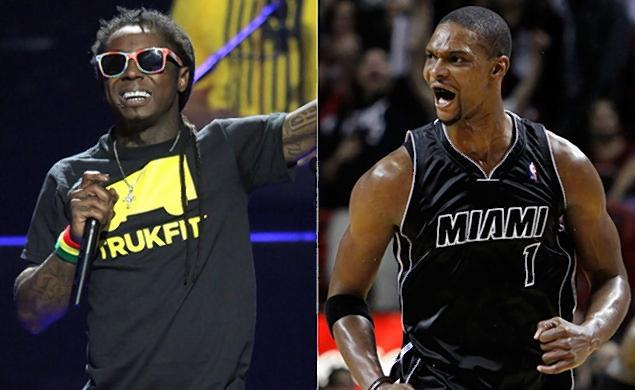 Lil Wayne Says He Slept with Chris Bosh's wife от Marinara за 19 feb 2013