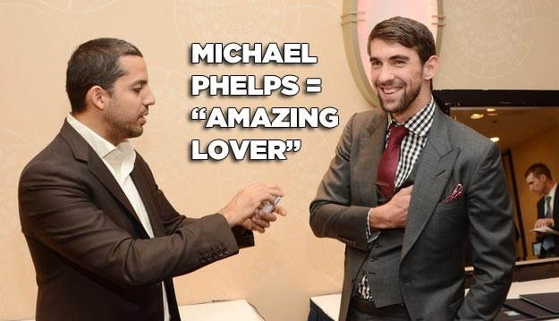 "Michael Phelps is Quiet the ""Lover"""