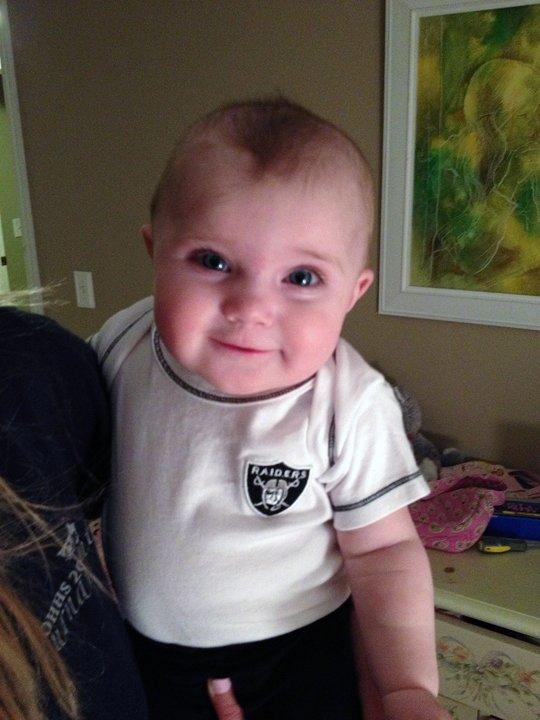 The Raider Nation Starts Young