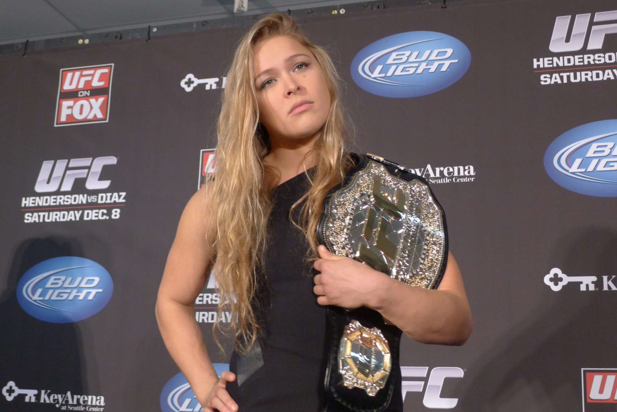Almost time for Rousey Vs Carmouche