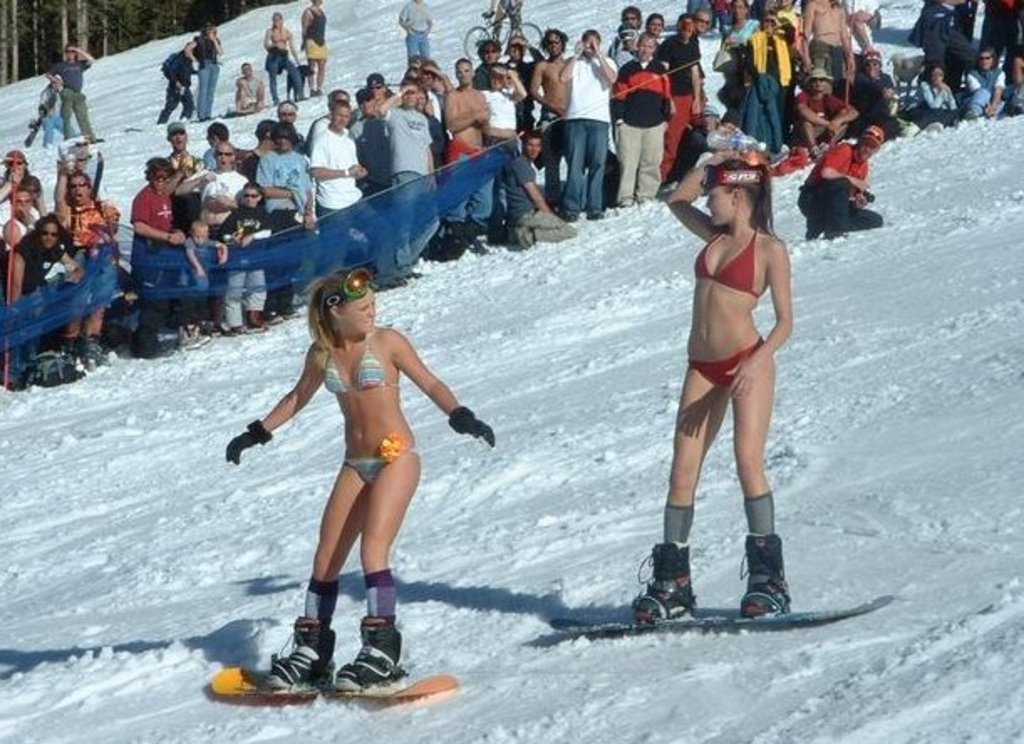 Sexy Snowboarders