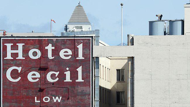 Dead Body Found in a Water Tank of Cecil Hotel