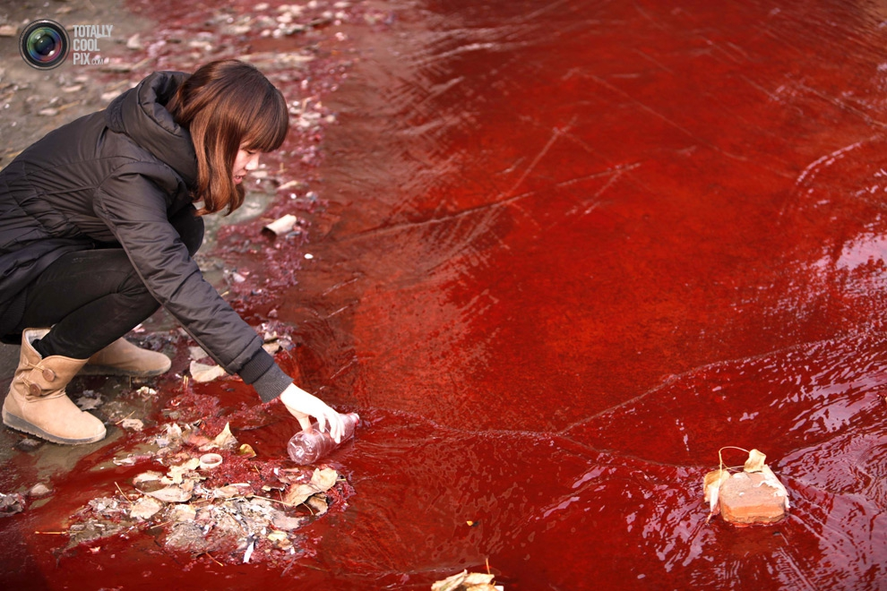 Water Pollution In China