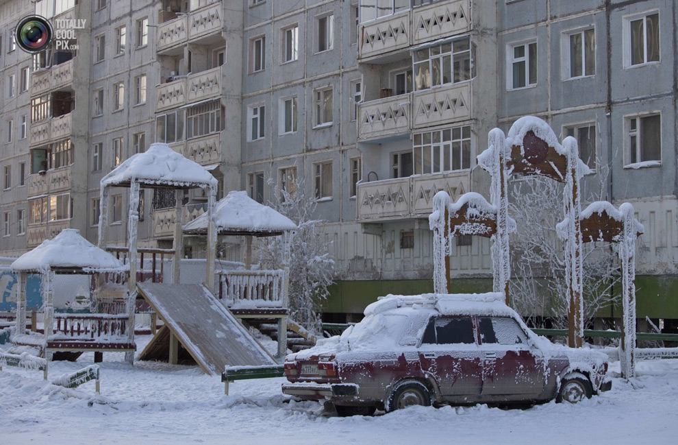 Extreme Cold In The Oymyakon valley
