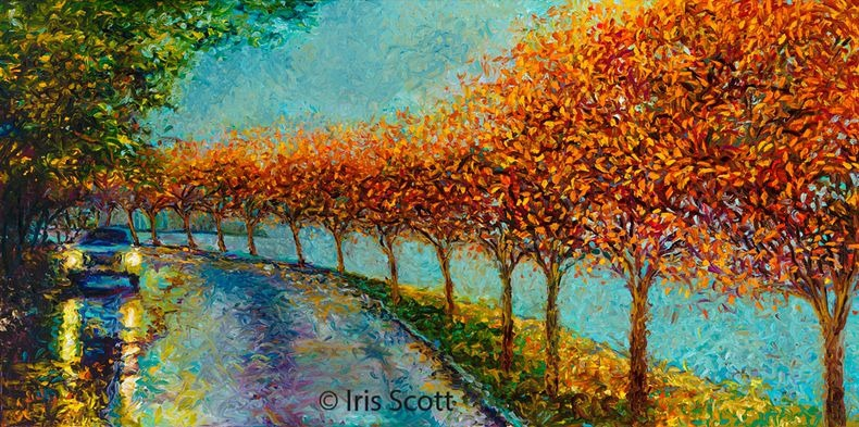 Finger Paintings by Iris Scott
