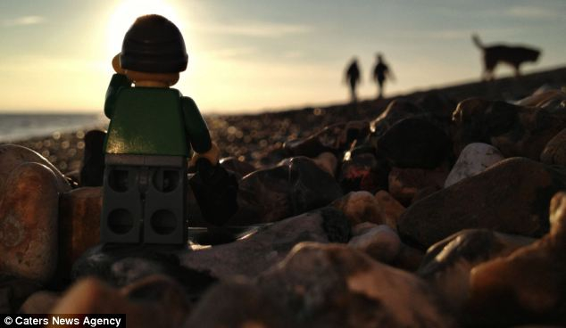 This Tiny Lego Tourist Sure Gets Around