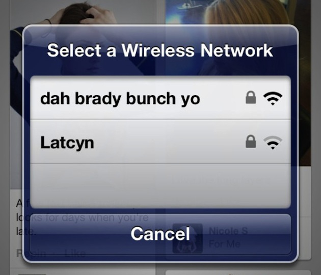 Hilarious Wi-Fi Network Names