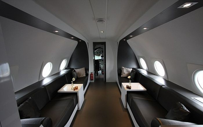 Plane converted to luxury suite for couples