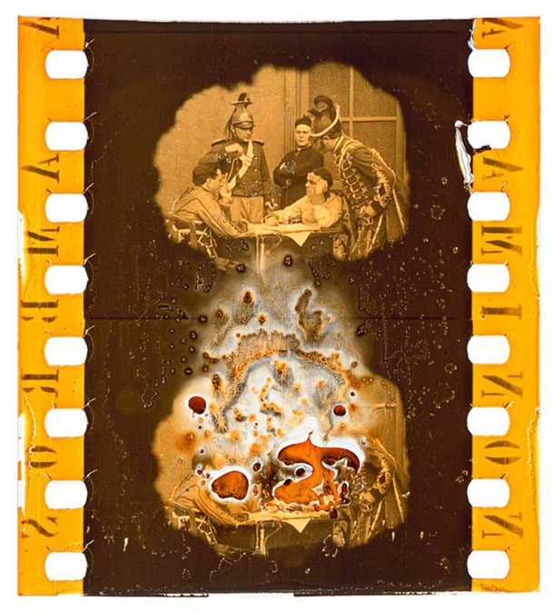 A Collection Of Surreal & Decomposed 35mm Film Clippings