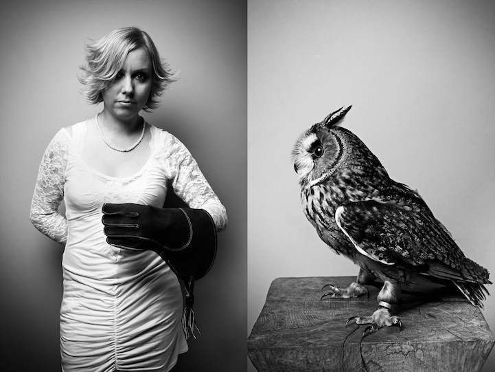 Adorable Portraits of People and Their Pets