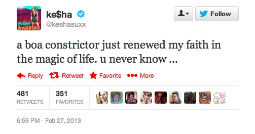 10 Interesting Celebrity Tweets
