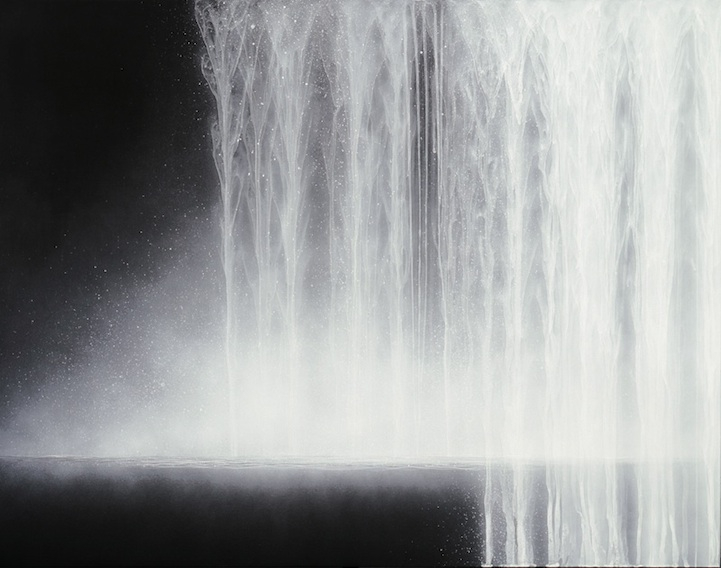 Majestic Waterfall Paintings Evoke Sense of Calm