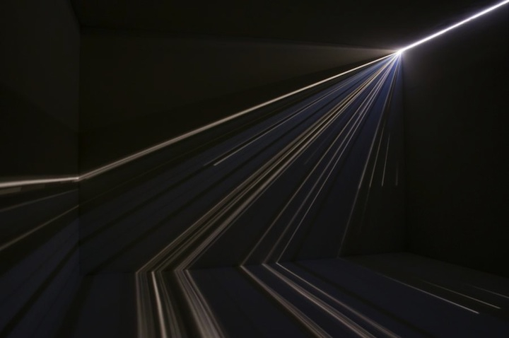 Interactive Installations from Sharp Cracks of Light