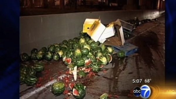 Disastrous Food Spills all over the world