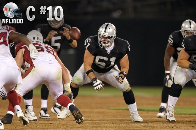 Top 10 Centers in The NFL