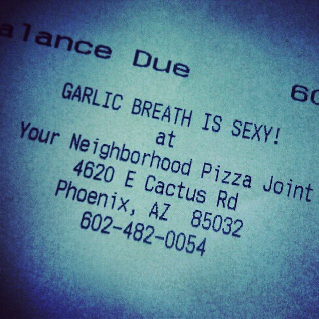 Funny Receipt Messages
