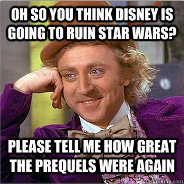 The Best Meme Reactions to Disney's Lucasfilm Acquisition