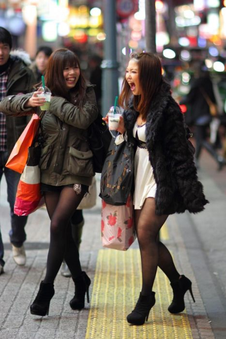 Girls from Japan