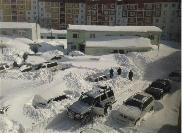 Can You Believe This Is Actually The Beginning of Spring in Russia?