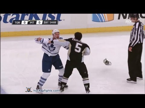 Best Hockey Fight Of 2013 So Far