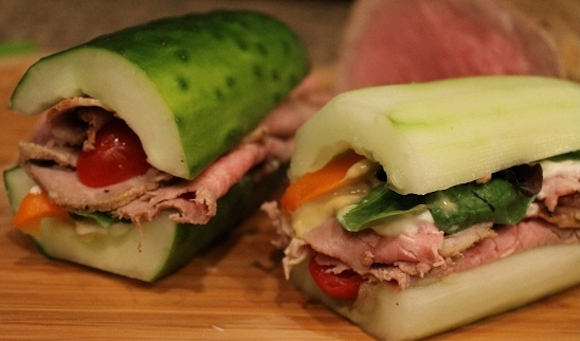 Delicious No-Bread Sandwiches