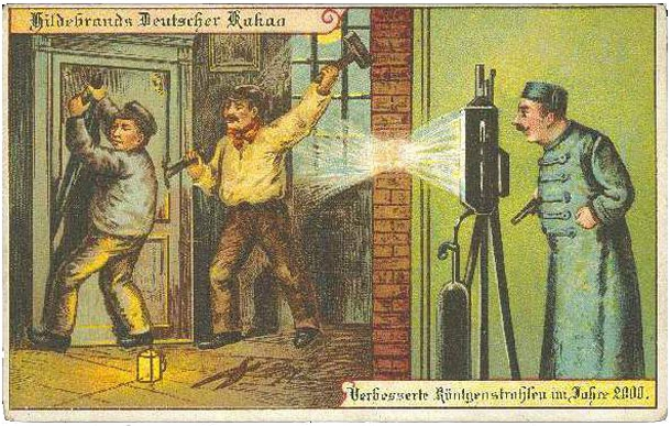 The Future According To Germans From The Year 1900