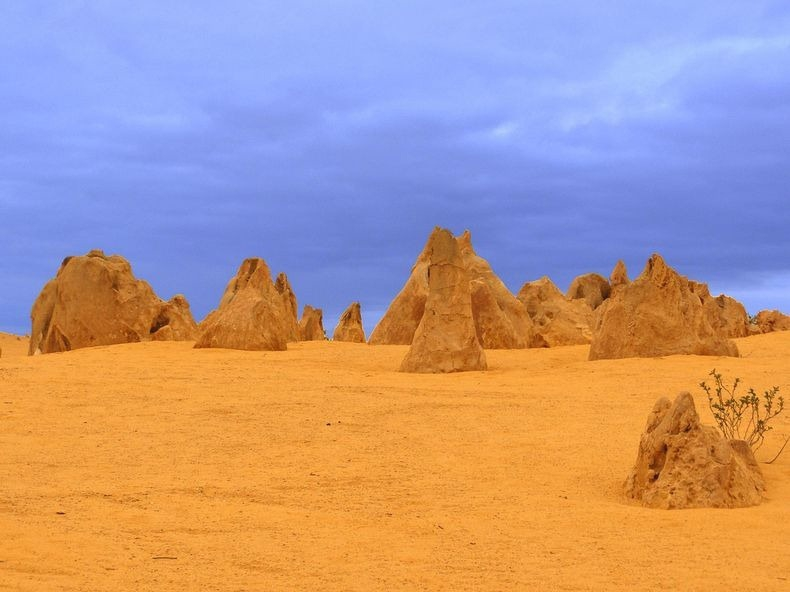 Pinnacles Desert in Nambung National Park, Australia