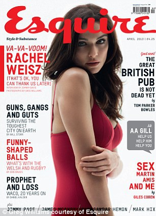 Rachel Weisz in a Sizzling Shoot